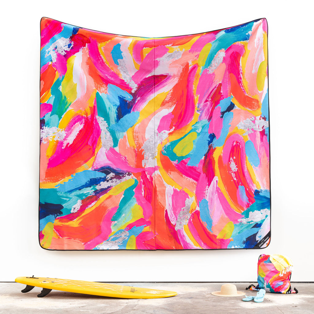 KALEIDOSCOPE REALLY BIG PICNIC RUG