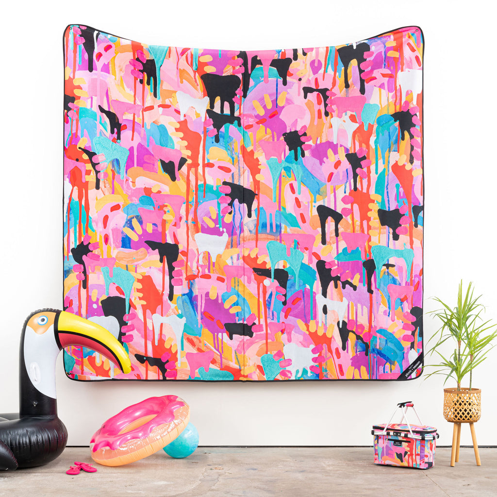 TOUCAN REALLY BIG PICNIC RUG