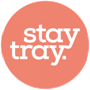 STAY TRAY REUSABLE DRINK CARRY TRAY