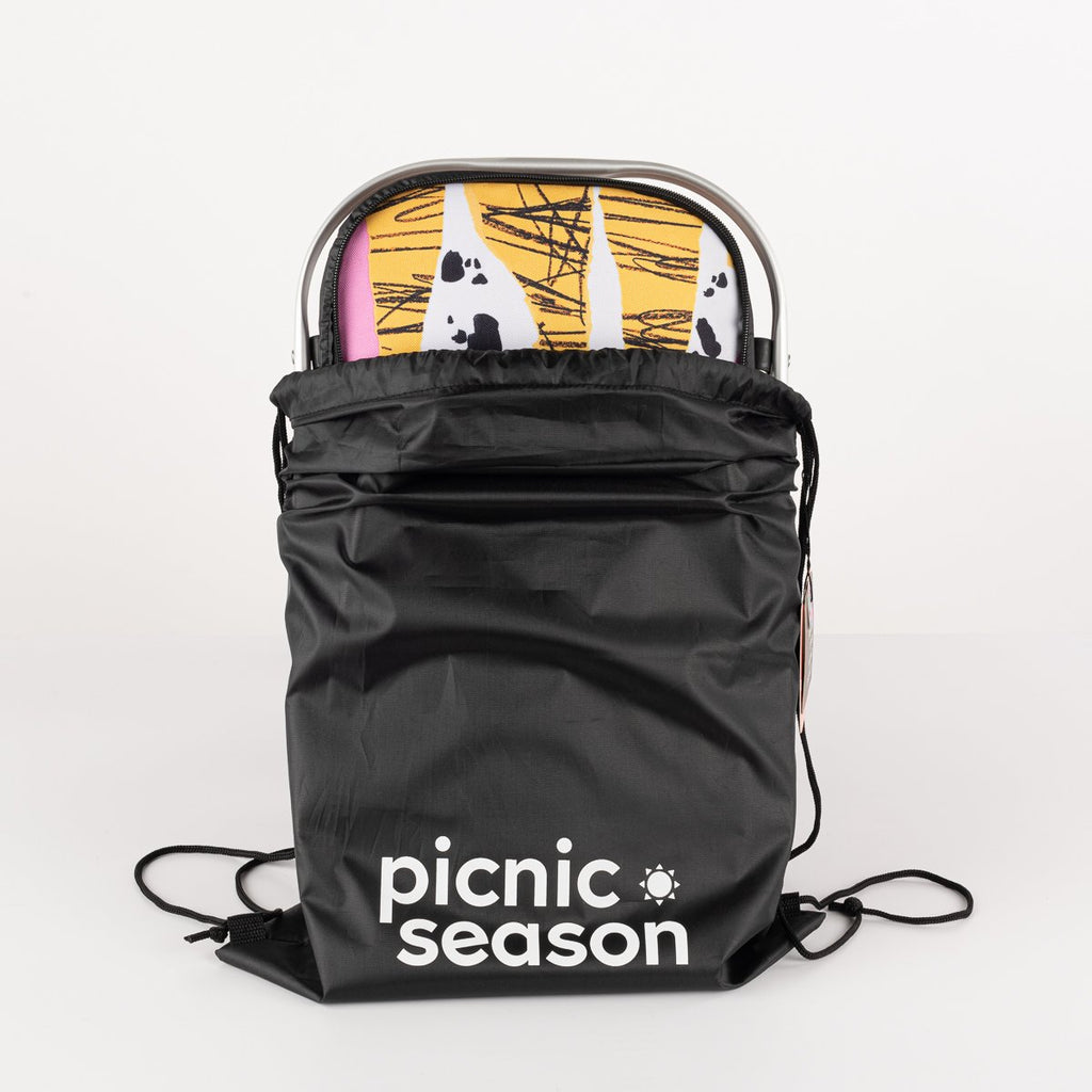 welcome to the jungle really cool insulated picnic basket