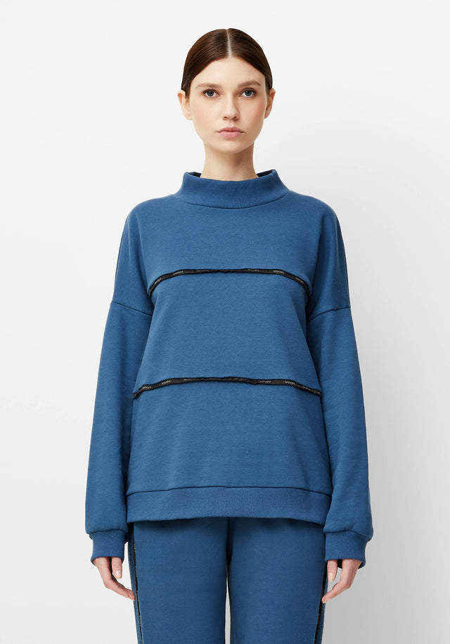 WOODS PIPED SWEATER