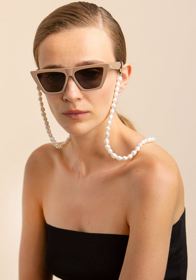 TOL EYEWEAR BIG PEARL CHAIN