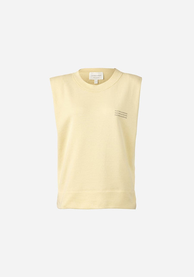 V&W SLEEVELESS SWEAT