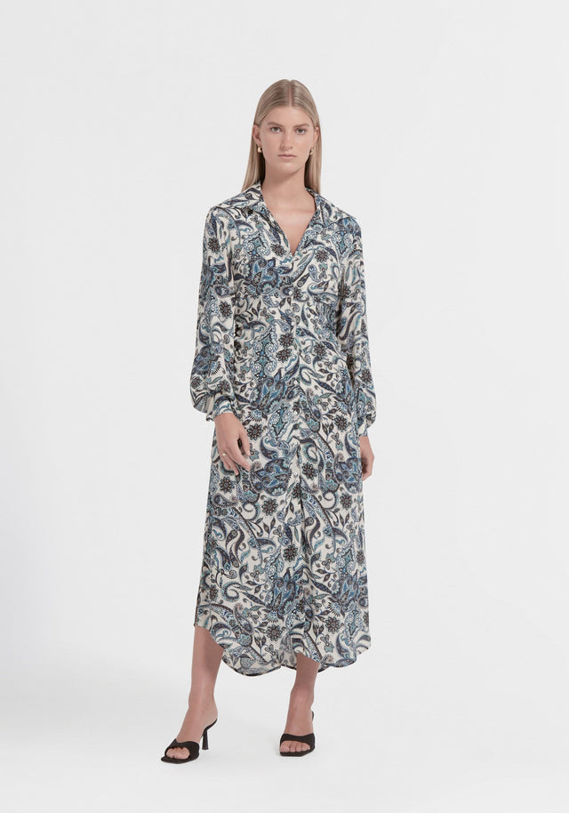NORTHERN SILK SHIRT DRESS