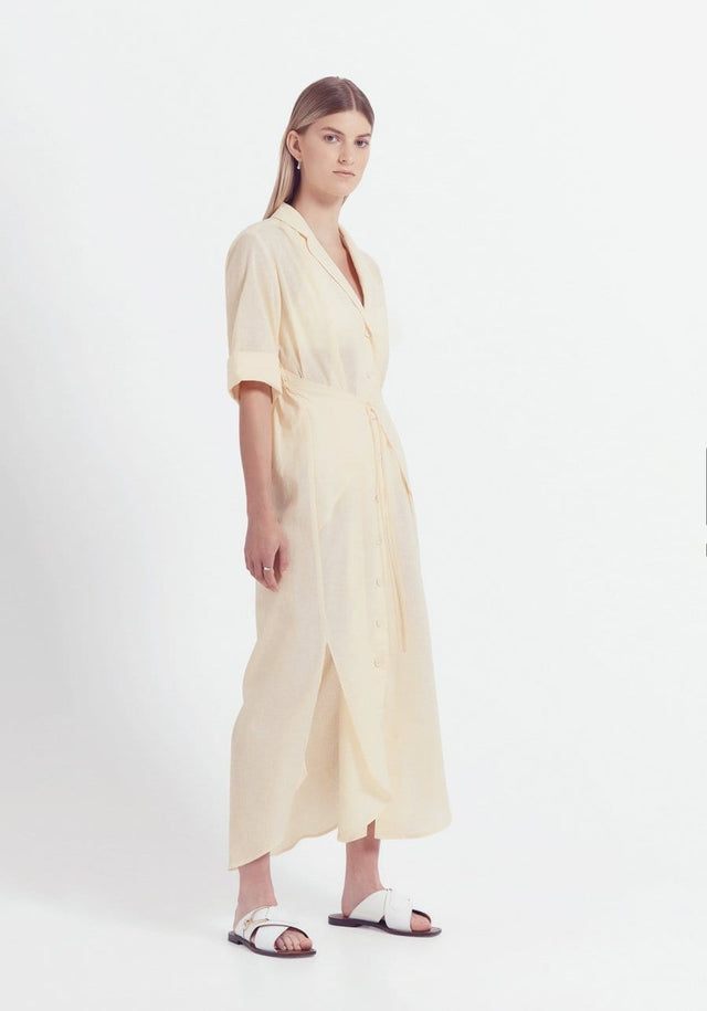 MANDOLIN SHIRT DRESS