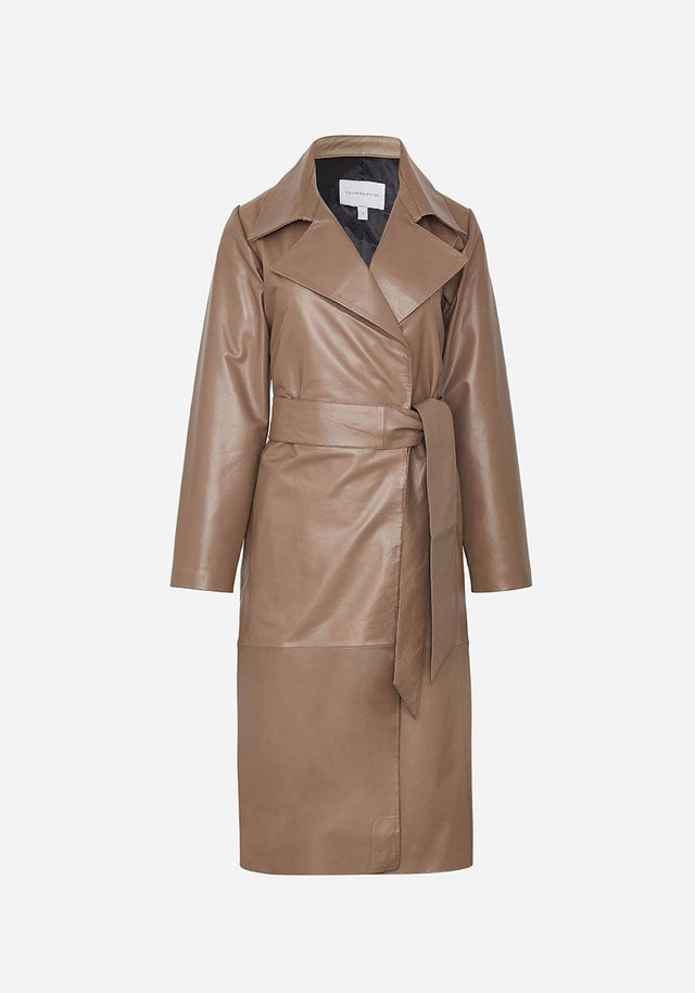 CREED LEATHER TRENCH