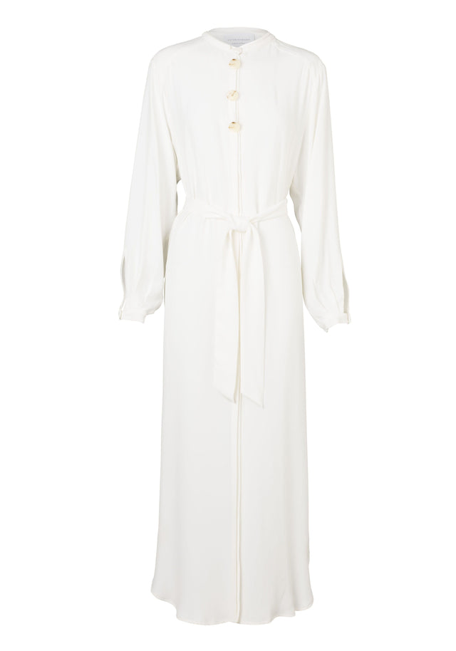 SATINE SHIRT DRESS