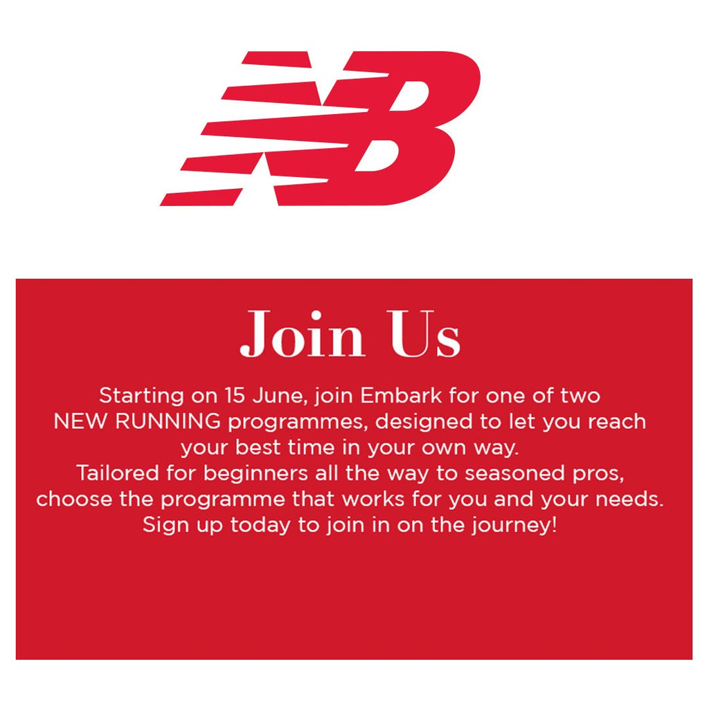 Join Embark & New Balance for 2 new running programs starting this week.