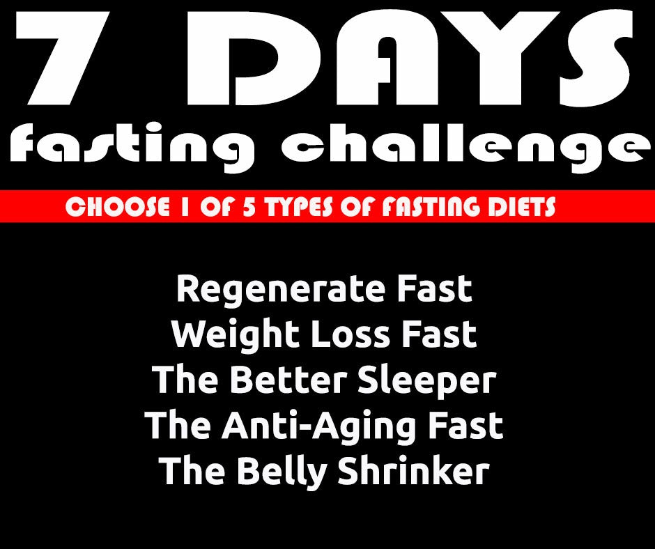 7 Day Fast Challenge