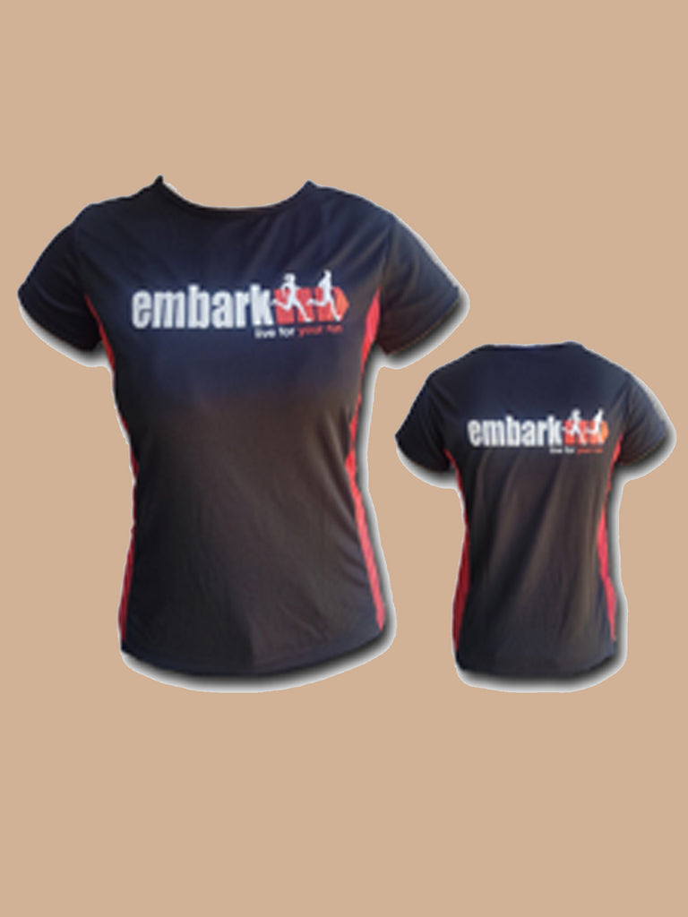 Embark Live for your Run Shirt- Ladies