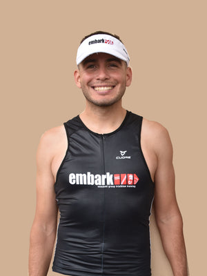 Embark Elite TRI Top- Mens Cuore