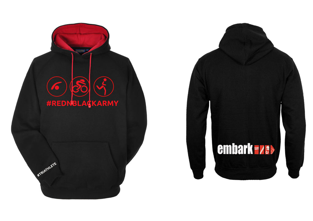 Ladies Embark TRI Team Hoodie (2018) R&B Army