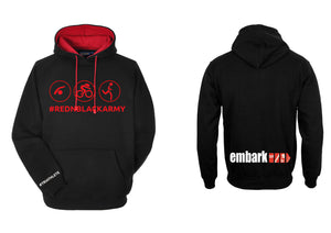 Ladies Embark TRI Team Hoodie R&B Army