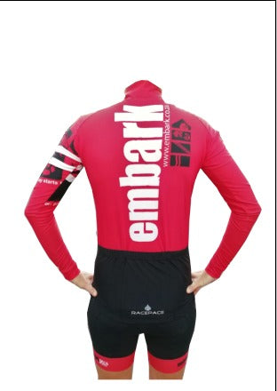 Mens Longsleeve Wind Stopper Cycle Jersey