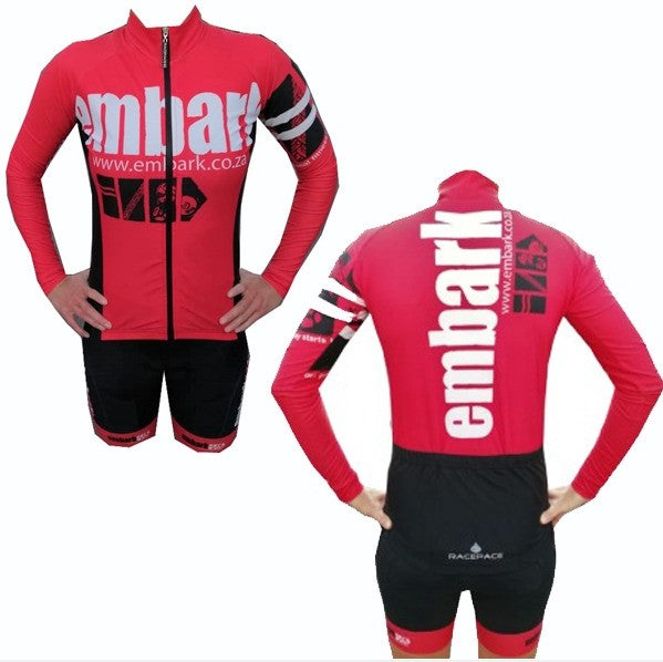 Ladies Longsleeve Wind Stopper Cycle Jersey