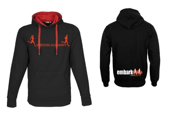 Ladies Embark RUN Team Hoodie