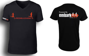 Mens Embark Run Team Tees