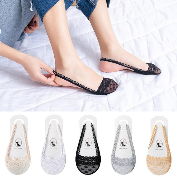 Kawaii Lace Transparent Socks - chicstocking
