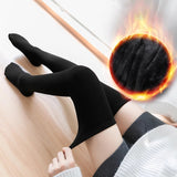 Thick Warm Over Knee Women Stockings