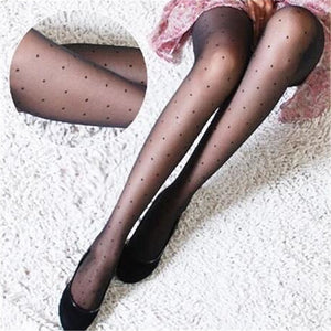 Polka Dot Tights Stockings Pantyhose - chicstocking