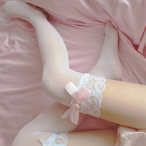Sexy Lace Thigh High Stockings