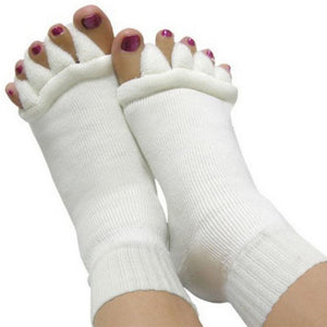 Open Toe Sleeping Health Foot Care Relaxing Compression Socks - chicstocking