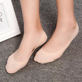 Silicone Antiskid Silk Seamless Ankle Invisible Socks