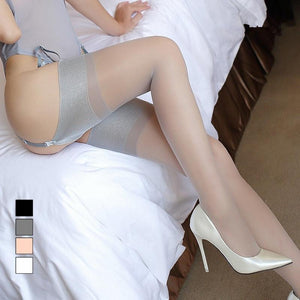Vintage Nylon Thigh High Stockings Pantyhoses - chicstocking