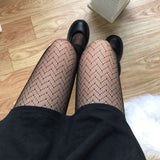 Sexy Lolita Lace Hollow Out Over Knee Stockings Pantyhose
