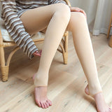Sexy Warm Thick Transparent Elastic Stockings Pantyhose