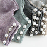 Glitter Pearl Cotton Socks - chicstocking