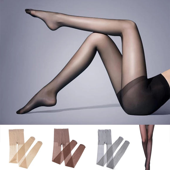 Sexy Transparent Thin Silk Stockings Pantyhose