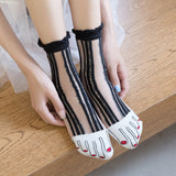 Funny Fake Toes Women Socks - chicstocking