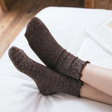 Retro Shining Hemming Cotton Socks - chicstocking