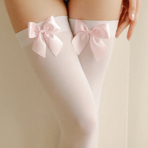 Sexy Sweet Bow Tights Stockings Pantyhose