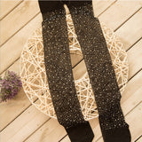 Bling Crystal Rhinestone Fishnet Thigh High Stockings Pantyhose - chicstocking