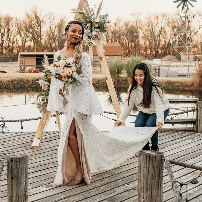A Golden Hour Bohemian Styled Shoot | Designed by Kayla Tong of KT Coordinations