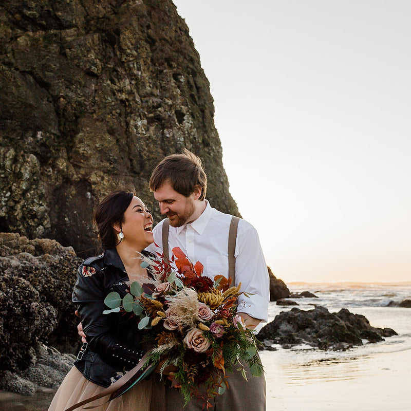 A Dreamy Styled Shoot at Cannon Beach | Photographs by Emily Zamora!