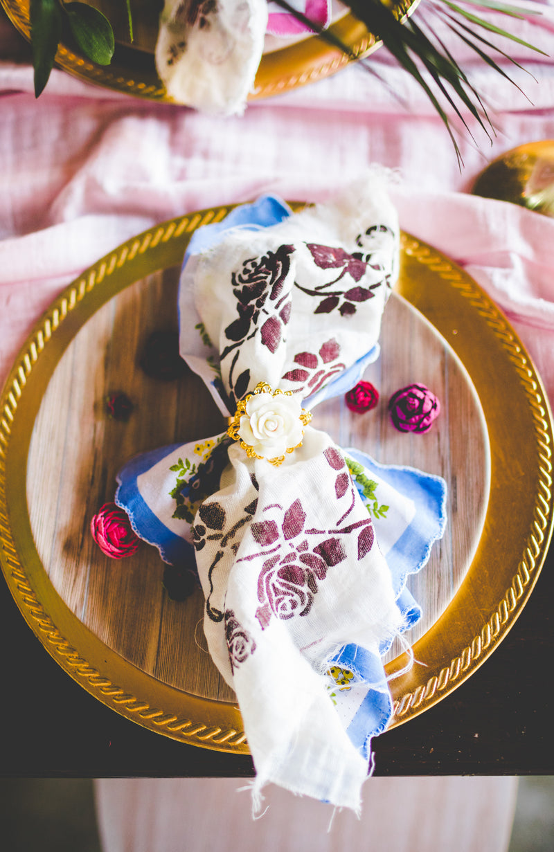 Rose Napkin Rings