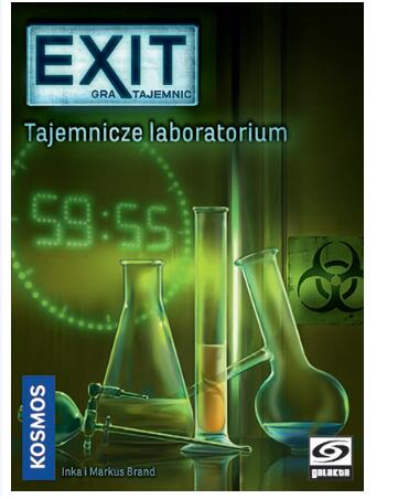 Exit the Game the Secret Lab - Board Games Master Australia | KIds | Familiy | Adults | Party | Online | Strategy Games | New Release
