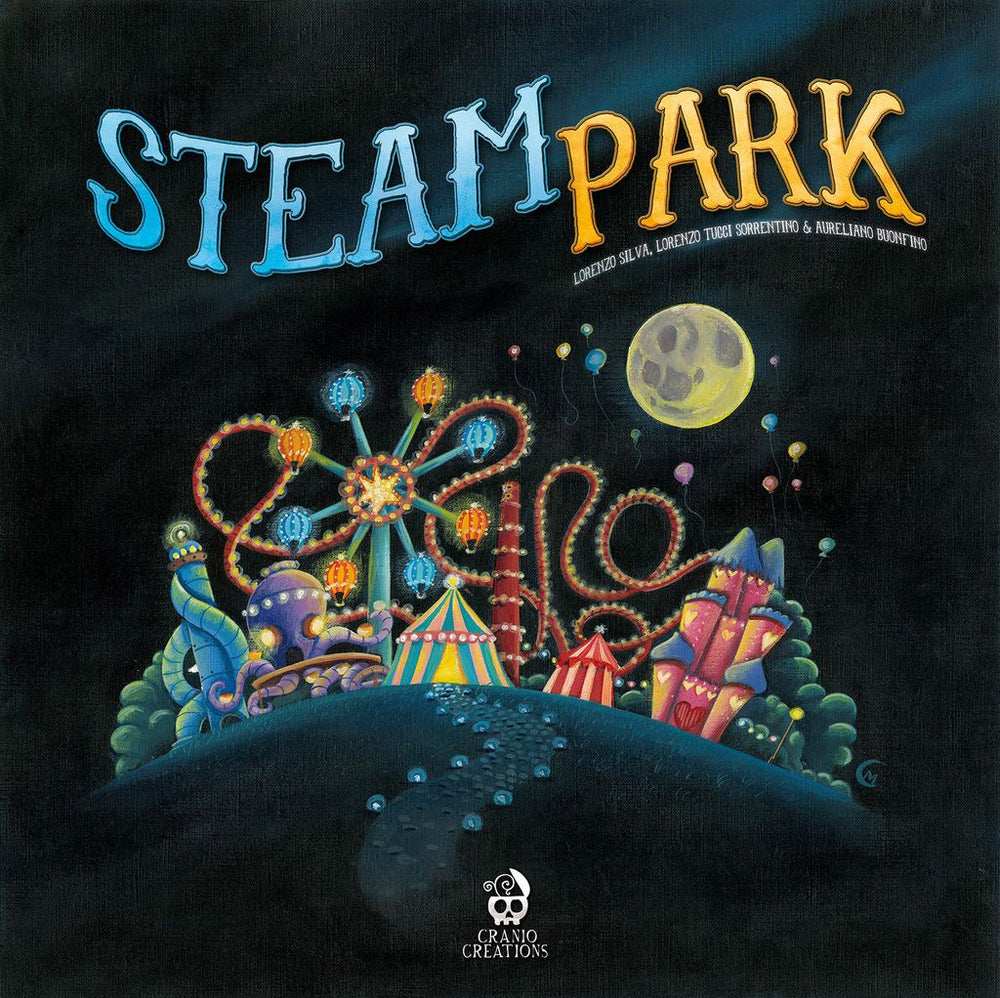 Steam Park - Board Games Master Australia | KIds | Familiy | Adults | Party | Online | Strategy Games | New Release
