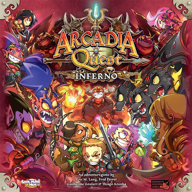 Arcadia Quest: Inferno - Board Games Master Australia | KIds | Familiy | Adults | Party | Online | Strategy Games | New Release