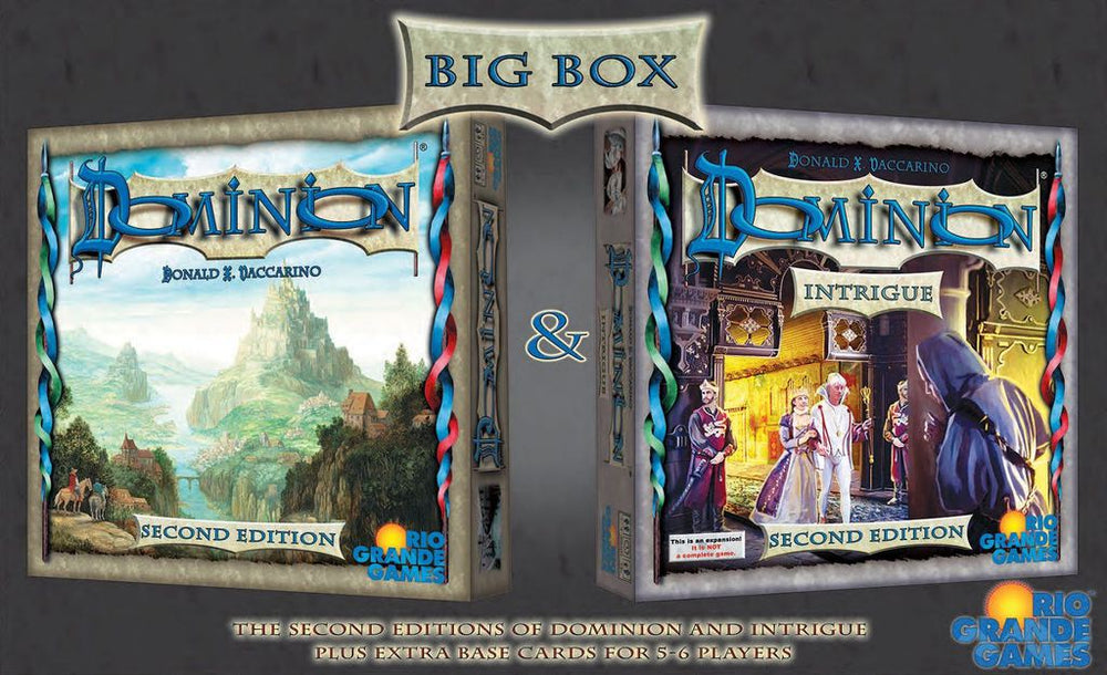 Dominion Big Box II - Board Games Master Australia | KIds | Familiy | Adults | Party | Online | Strategy Games | New Release
