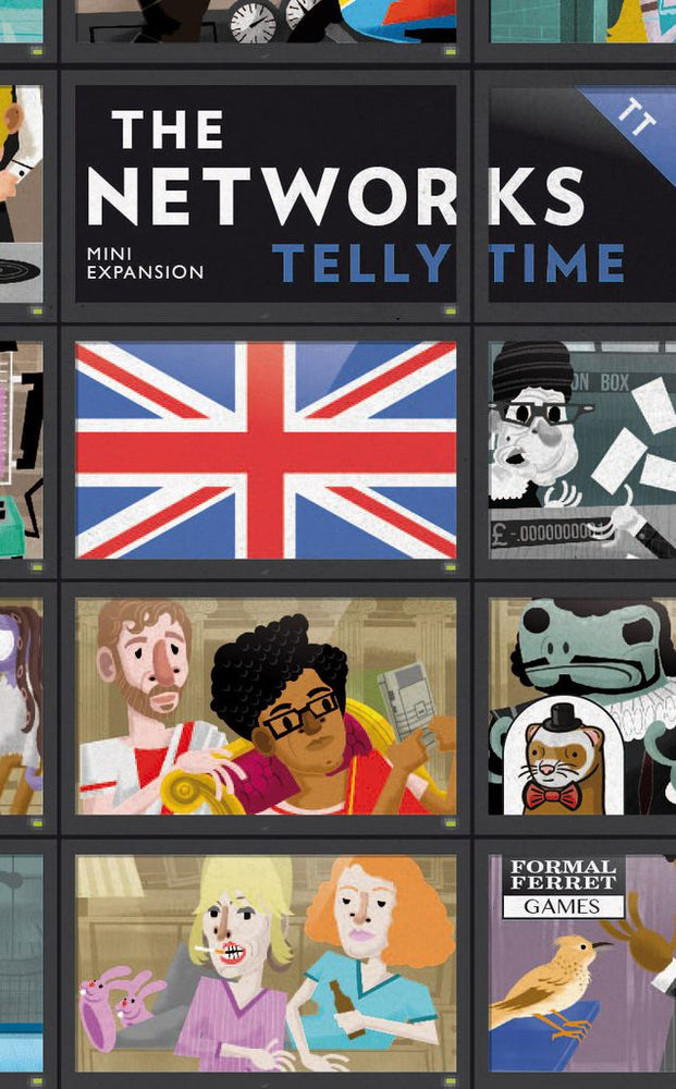 The Networks Telly Time - Board Games Master Australia | KIds | Familiy | Adults | Party | Online | Strategy Games | New Release