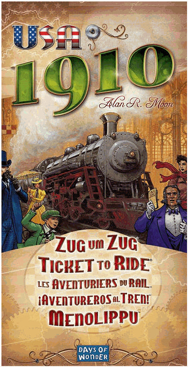 Ticket to Ride USA 1910 Expansion - Board Games Master Australia | KIds | Familiy | Adults | Party | Online | Strategy Games | New Release
