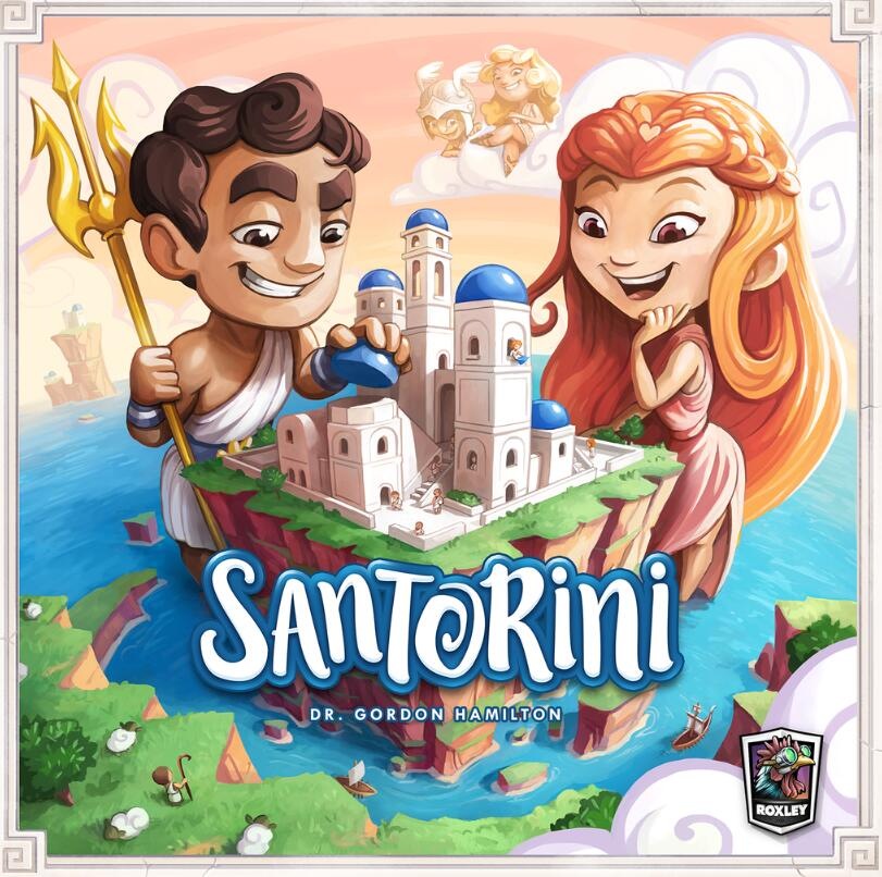 Santorini 2nd Edition - Board Games Master Australia | KIds | Familiy | Adults | Party | Online | Strategy Games | New Release