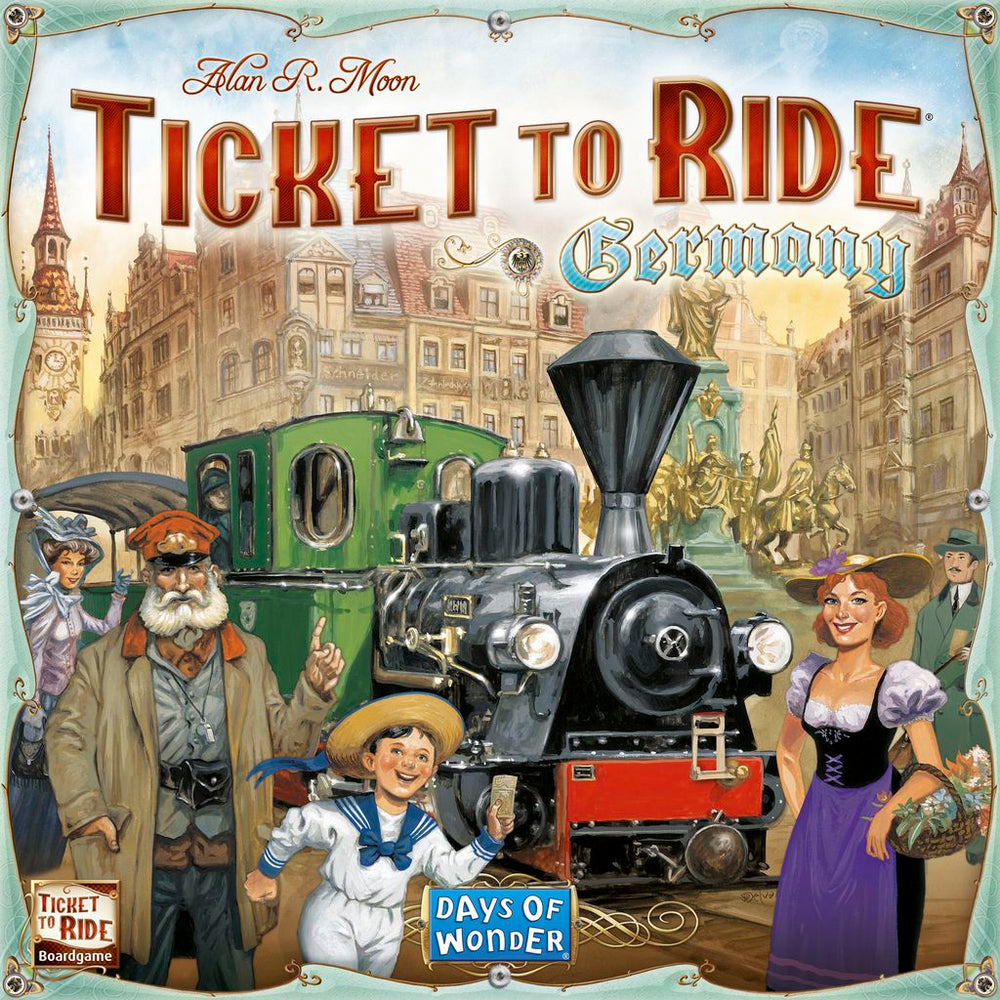 Ticket to Ride Germany - Board Games Master Australia | KIds | Familiy | Adults | Party | Online | Strategy Games | New Release