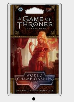 A Game of Thrones LCG: 2016 World Championship Joust Deck - Board Games Master Australia | KIds | Familiy | Adults | Party | Online | Strategy Games | New Release