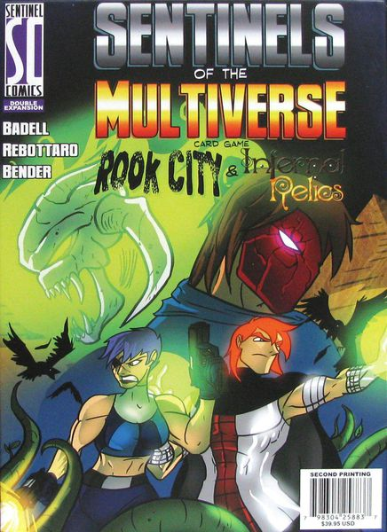 Sentinels of the Multiverse Rook City & Infernal Relics Expansion