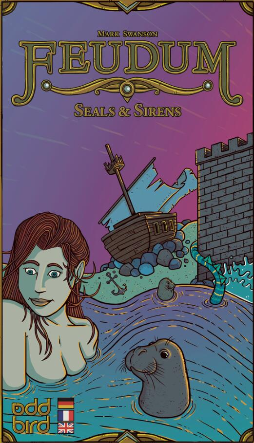 Feudum: Seals & Sirens (expansion) - Board Games Master Australia | KIds | Familiy | Adults | Party | Online | Strategy Games | New Release
